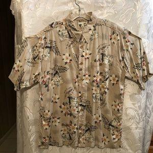 M.E. Sport Hawaiian Short Sleeve Button Up Shirt